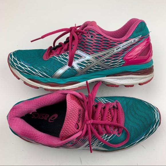 Gel Nimbus 18 Lapis Running Shoe Size